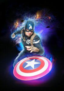 Thème Super Héros - capitaine america