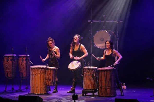 Trio de Tam Tam, Percussions